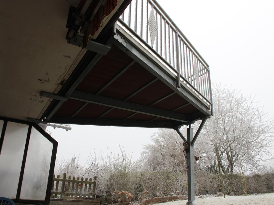 montagebau marc zettl stahl balkon erweiterungen. Black Bedroom Furniture Sets. Home Design Ideas