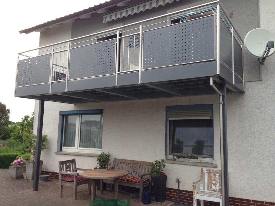 montagebau marc zettl stahl balkon anlagen. Black Bedroom Furniture Sets. Home Design Ideas